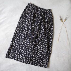 Daniel Hechter Floral Wrap Skirt